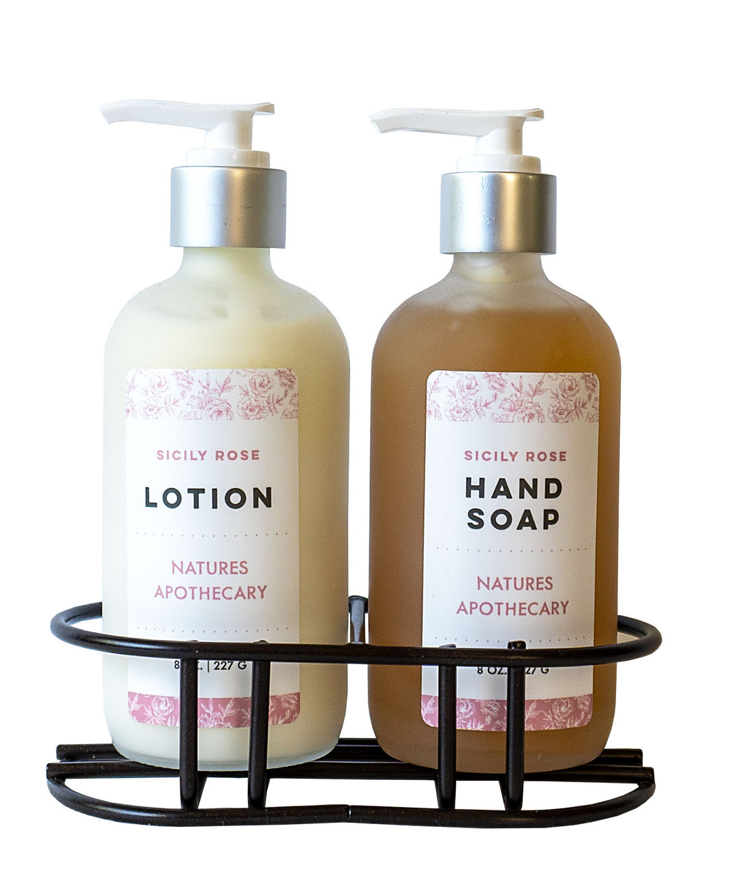 Sicily Rose Liquid Soap - Nature's Apothecary DAYSPA Body Basics