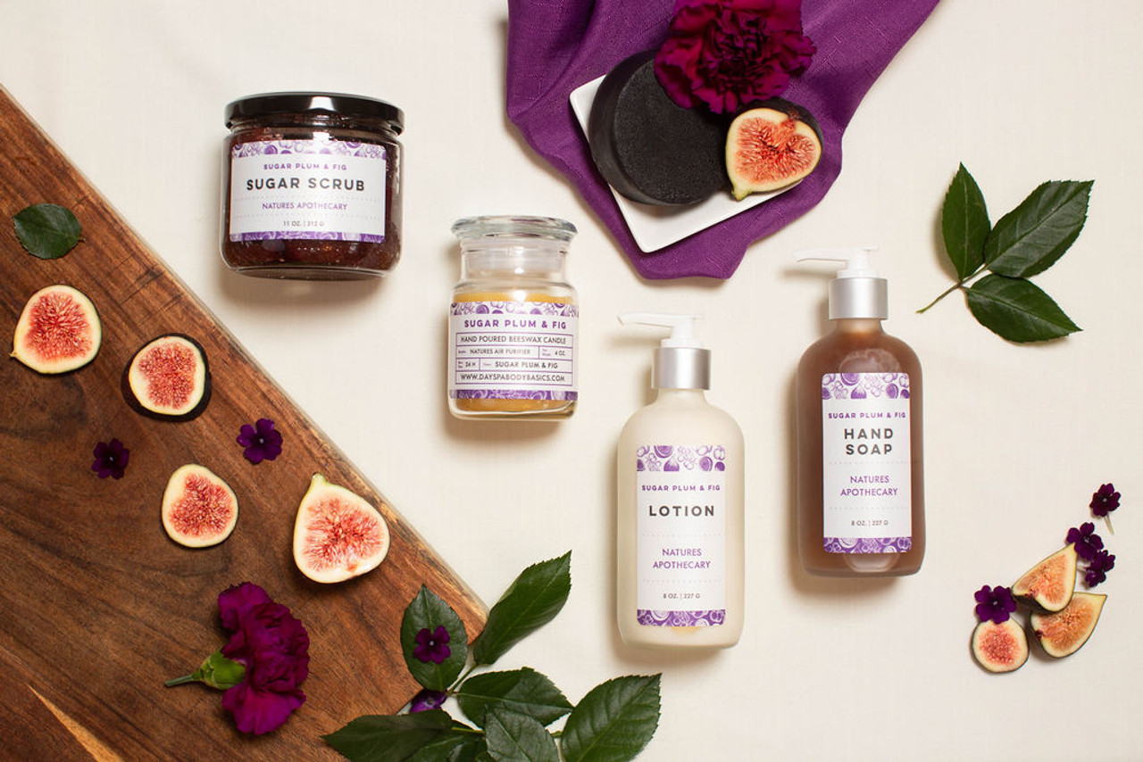 Sugar Plum & Fig The Gift of Luxury - Perfect House Warming Gift - Curated Gifts By DAYSPA Body Basics Basics Gift Box Made in USA