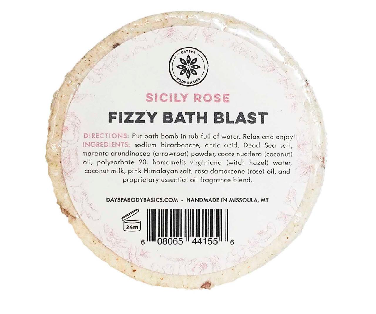 Sicily Rose Bath Blast Bath Bomb