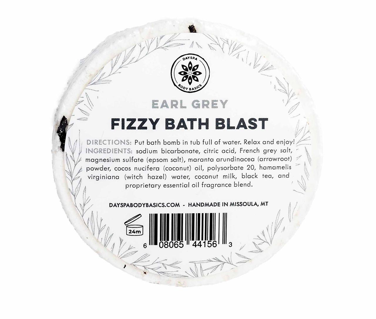 Earl Grey Fizzy Bath Blast