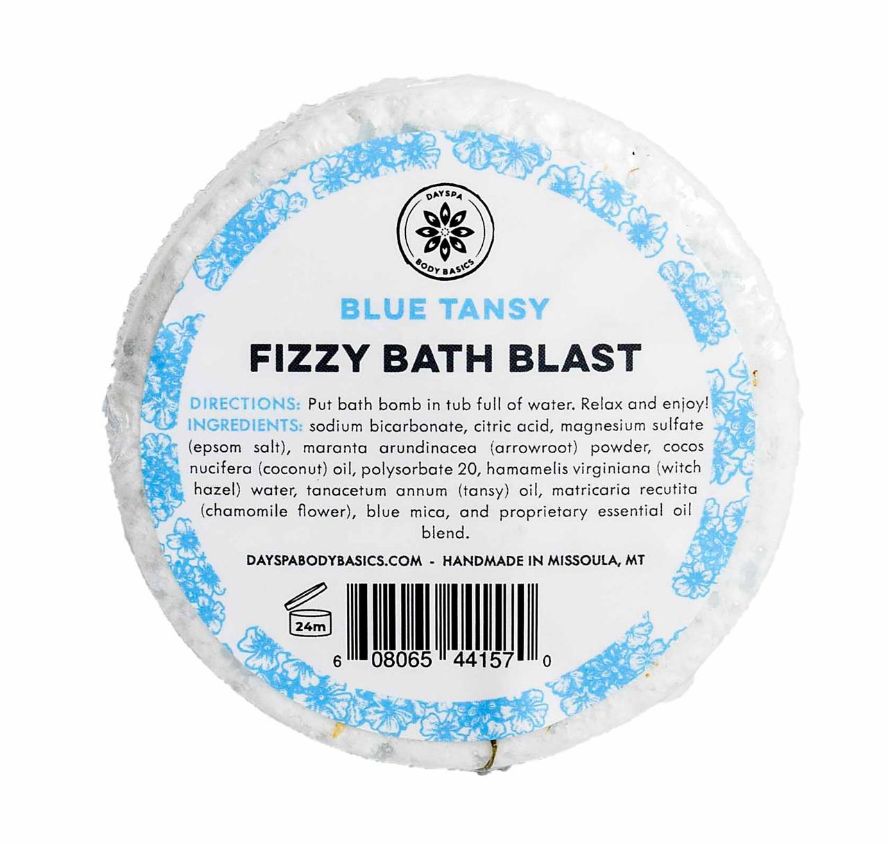 Blue Tansy Fizzy Bath Blast DAYSPA Body Basics