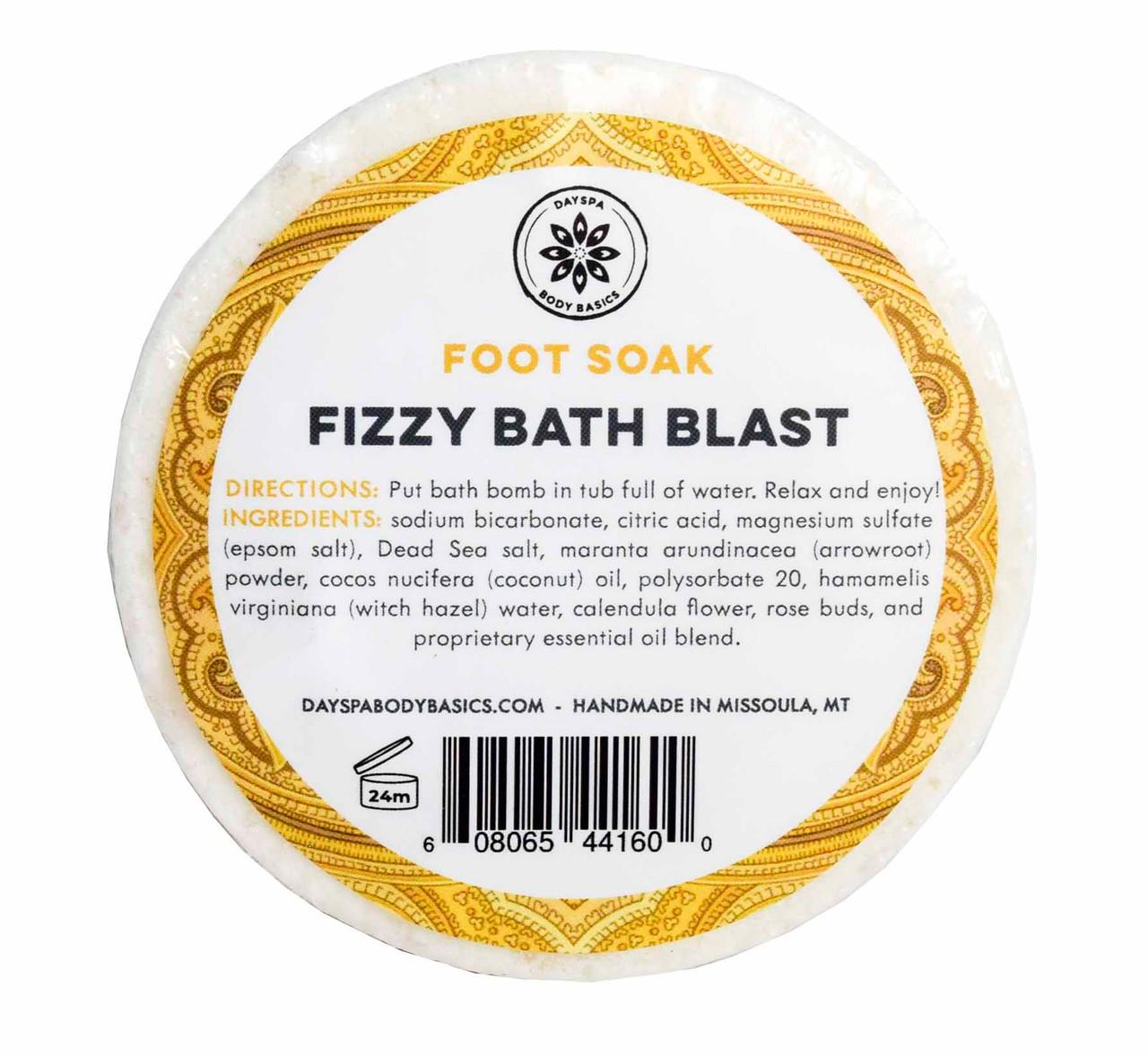 DAYSPA Body Basics Fizzy Bath Blast Foot Soak