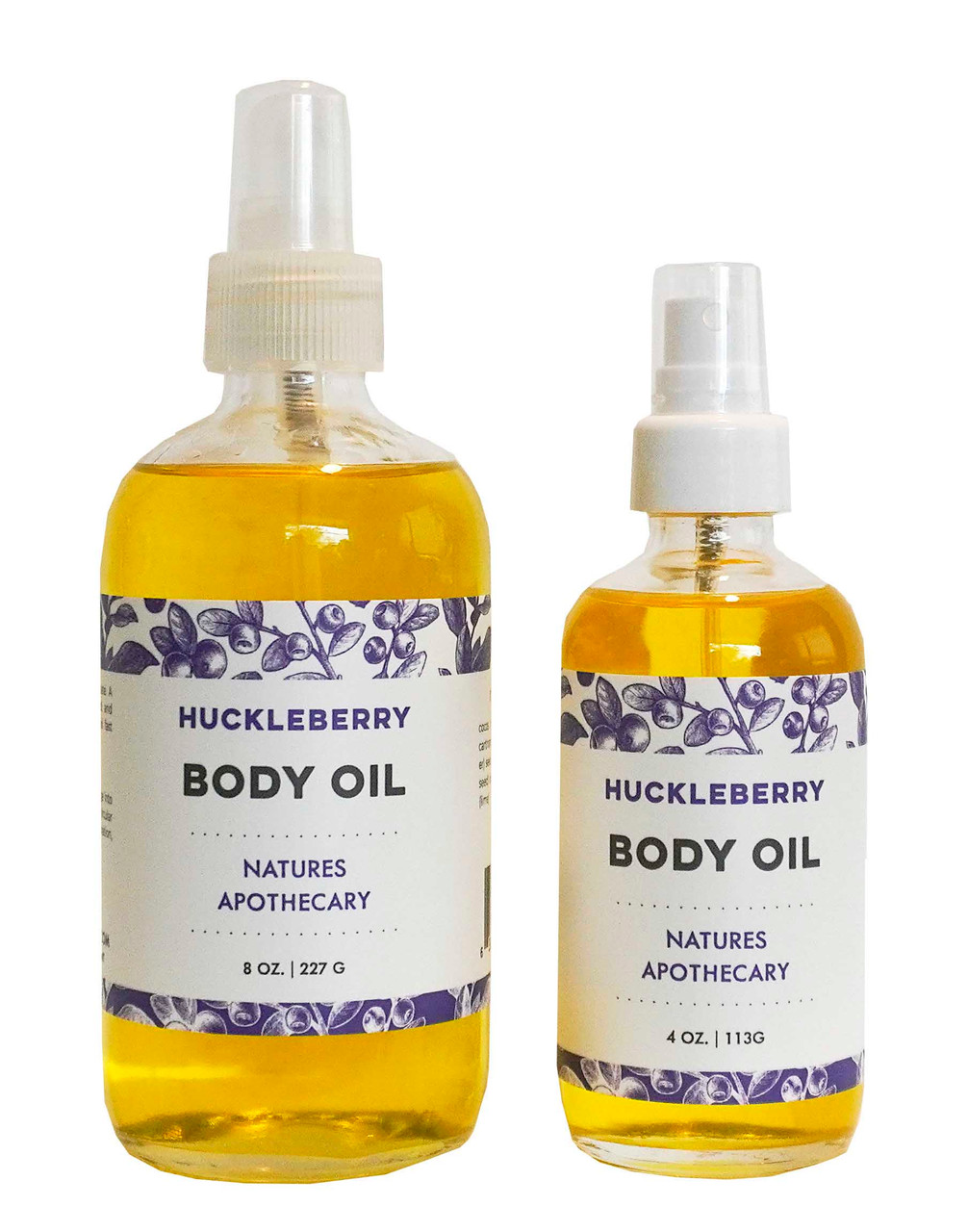 Huckleberry Body Oil | Ultra-Moisturizing | Wildly Luxurious
