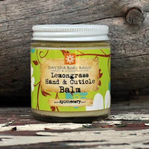 Lemongrass Hand & Cuticle Balm