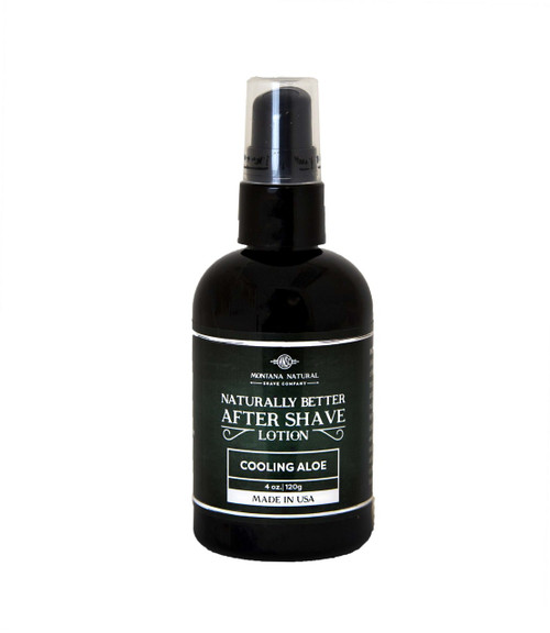 Naturally Better Soothing & Nourishing Organic Aloe After Shave Balm
