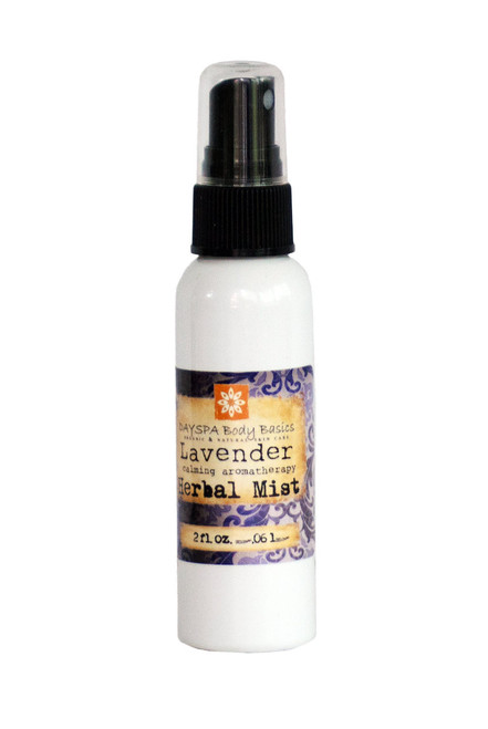 Lavender Bed & Body Herbal Mist (Travel/Airport Size)