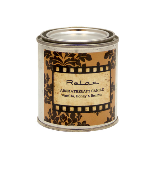 Tranquil - Made with Vanilla, Honey, & Benzoin Essential Oil Hand Poured Beeswax Candle