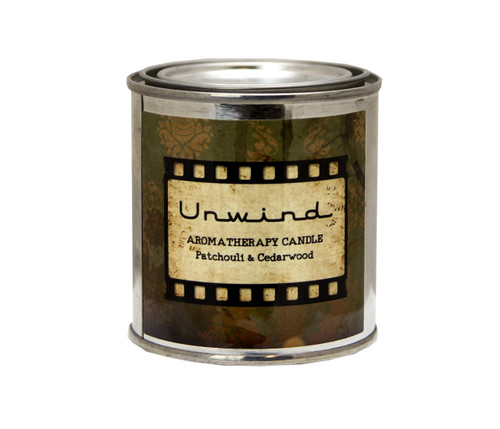 Unwind With Patchouli & Cedarwood Natural Beeswax Candle Hand Poured by DAYSPA Body Basics
