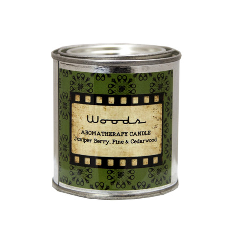 Woods Scented Natural Beeswax Candle Hand Poured by DAYSPA Body Basics