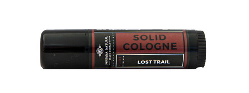 Lost Trail Solid Cologne Stick Travel & Gym Friendly - Montana Natural Shave Company