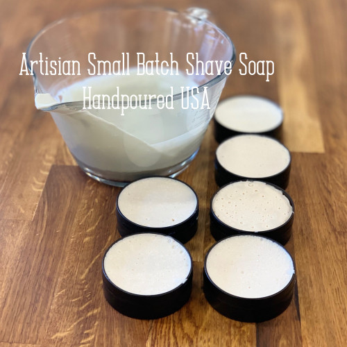 Lavender Lime Artisan Small Batch Shave Soap for a Naturally Better Shave Experience