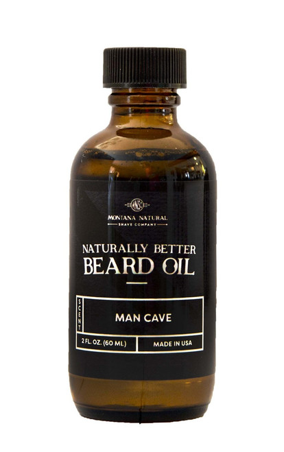 Man Cave Beard Oil & Leave in Moisturizer - Montana Natural Shave Company