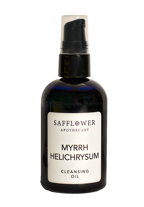 Helichrysum Cleansing  & Facial Massage Oil Safflower Apothecary