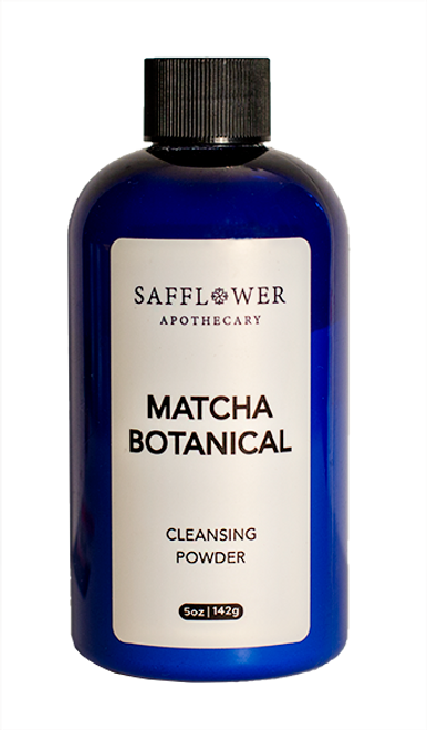 Matcha Botanical Cleansing Powder Safflower Apothecary