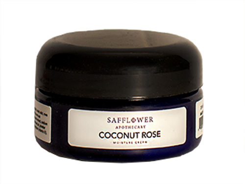 Coconut Rose Face & Decollete Whipped Moisture Cream Safflower Organics by DAYSPA Body Basics