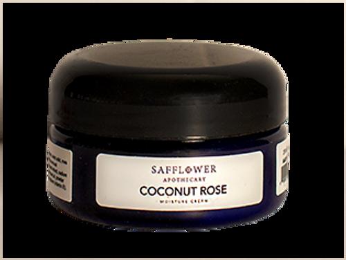 Coconut Rose Face & Decollete Whipped Moisture Cream Safflower Organics by DAYSPA Body Basics