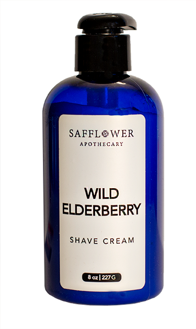 Wild Elderberry Pump Shave Cream