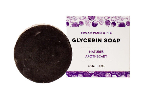DAYSPA Body Basics Sugar Plum & Fig Glycerin Soap, Eco Friendly, 100% Vegan, Glycerin Soap, Handmade in USA in Small Batches