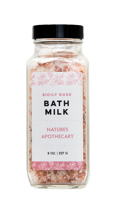 Sicily Rose Coconut Milk Bath - DAYSPA Body Basics
