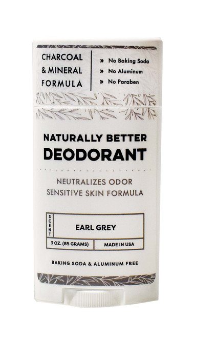Earl Grey Naturally Better Deodorant - DAYSPA Body Basics