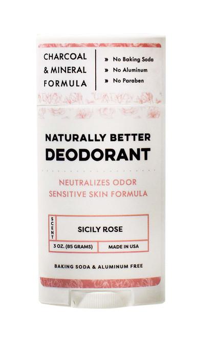 Sicily Rose Naturally Better Deodorant - DAYSPA Body Basics