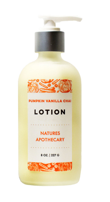 Pumpkin Vanilla Chai Lotion For Dry Skin | Silky, Nourished, & Hydrated Skin | Organic Safflower Hand, Face & Body Lotion| Sensitive Skin Formula | Handmade in USA | Simple Ingredients, Naturally Better Results