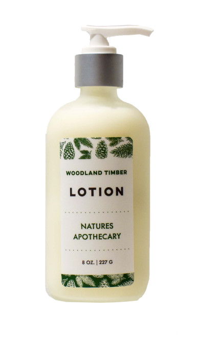 Woodland Timber Luxury Lotion Natures Apothecary by DAYSPA Body Basics