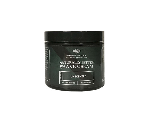 Montana Natural Shave Company | Unscented Shave Cream for a Naturally Better Shave Experience!