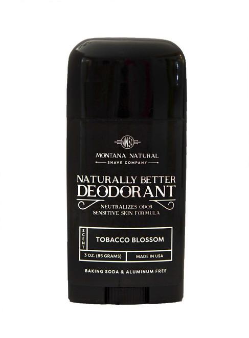 Tobacco Blossom Deodorant Stick   Sensitive Skin Formula   Baking Soda Free   Aluminum Free