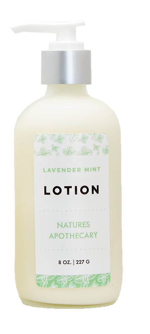 Lavender Mint Lotion For Dry Skin | Silky, Nourished, & Hydrated Skin | Organic Safflower Hand, Face & Body Lotion| Sensitive Skin Formula | Handmade in USA | Simple Ingredients, Naturally Better Results by DAYSPA Body Basics