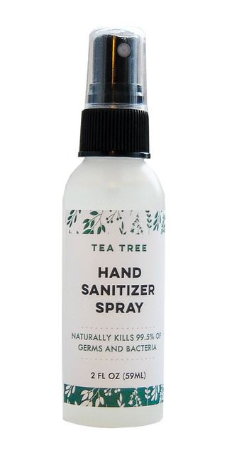Tea Tree All Natural Hand Sanitizer | Kills 99% of Germs & Bacteria DAYSPA Body Basics