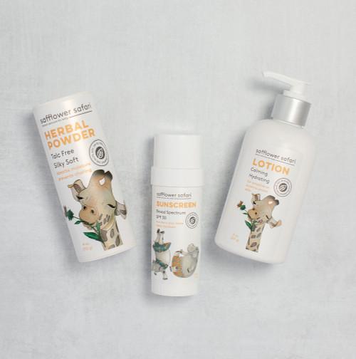 Herbal Baby Powder - Talc-Free Silky Fresh | Absorbs Moisture
