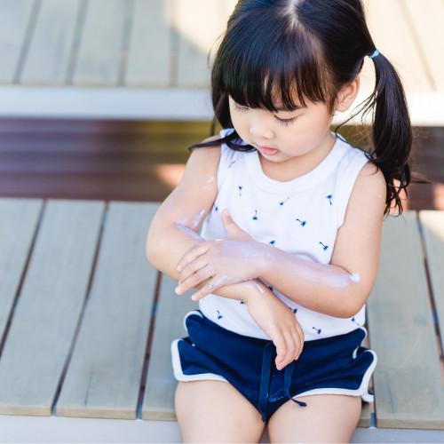 Baby All Natural Mineral Sunscreen | Non Nano Zinc Oxide | SPF30 - Safflower Saffari