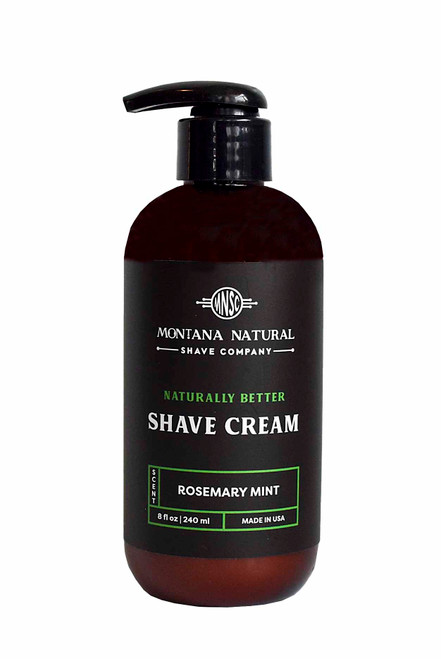 Rosemary Mint  Pump Shave Cream - MNSC