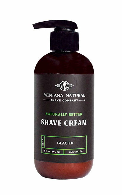 Glacier Pump Shave Cream