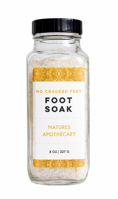 No Cracked Feet- Foot Soak