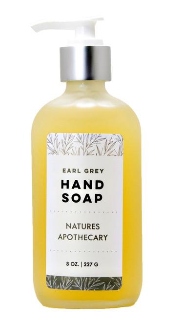 Earl Grey Liquid Soap - Nature's Apothecary DAYSPA Body Basics