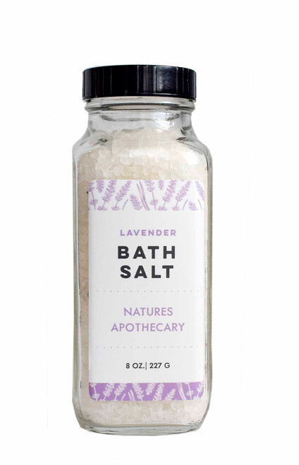 Lavender Bath Salts – Revive Your Mind & Body Like The Greeks & Romans DAYSPA BODY BASICS