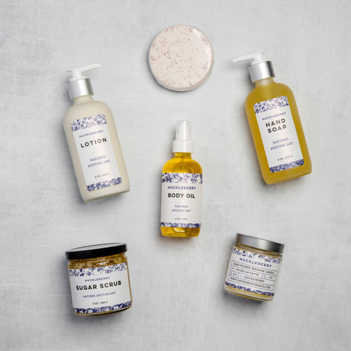 Huckleberry - The Gift of Luxury - Perfect House Warming Gift - Curated Gifts By DAYSPA Body Basics Basics Gift Box Made in USA