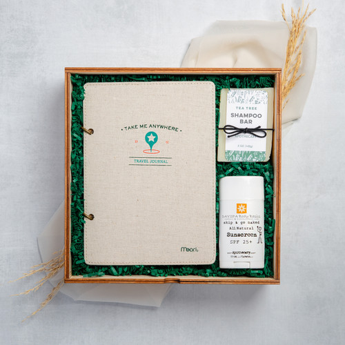 The Traveler - Curated Gifts By DAYSPA Body Basics Basics Gift Box Made in USA