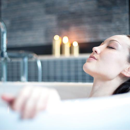 Lavender Mint All-Natural Fizzy Bath Blast - Vegan Bath Bomb