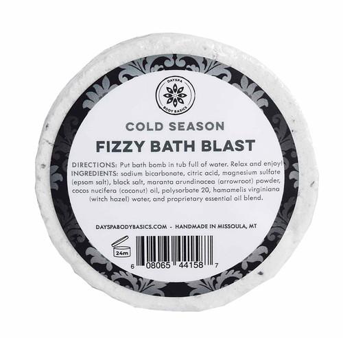 Cold and Flu Season Fizzy Bath Blast