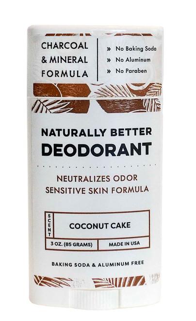 Coconut Cake Essential Oil Naturally Better Deodorant - DAYSPA Body Basics