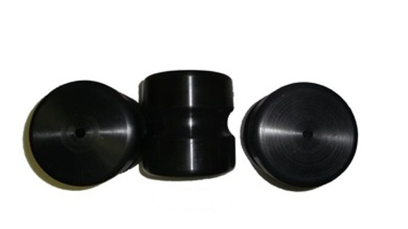 Replacement  Spinalator Rollers Solid UHMW Hard Plastic