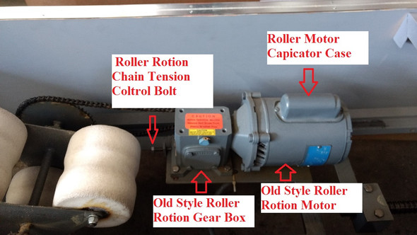 Spinalator Replacement Capacitor for Roller Rotation Motor