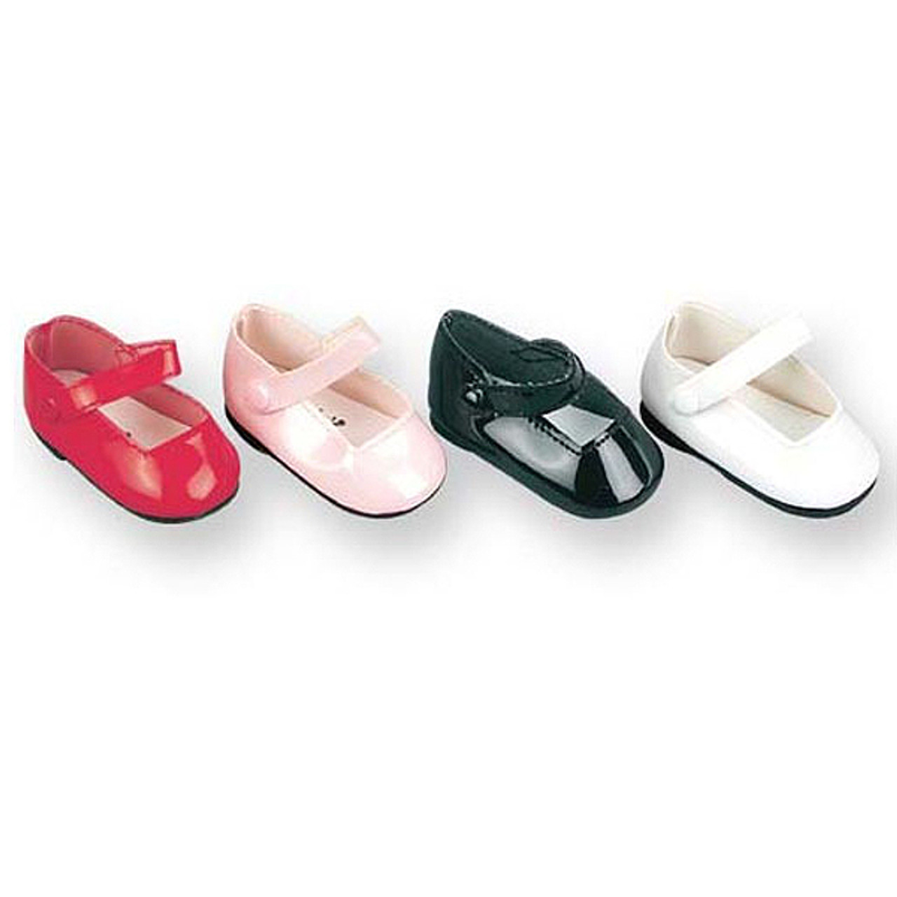 Fashion Black Mary Janes for Girl 18 inch Doll Shoes for B*dm
