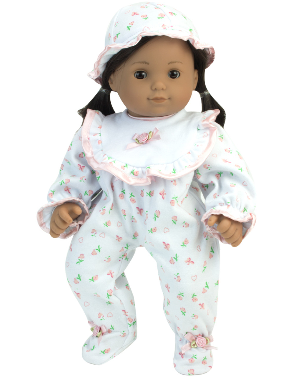a5f434f028 Floral Print Sleeper For 15 Inch Baby Dolls - My Doll s Life