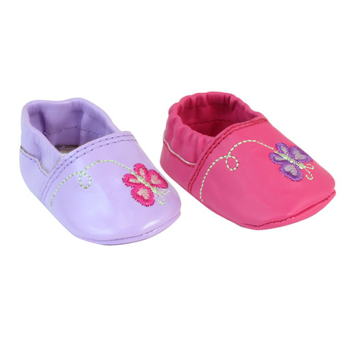 Butterfly Slip On Shoes Fit 15 Baby Dolls Final Clearance My