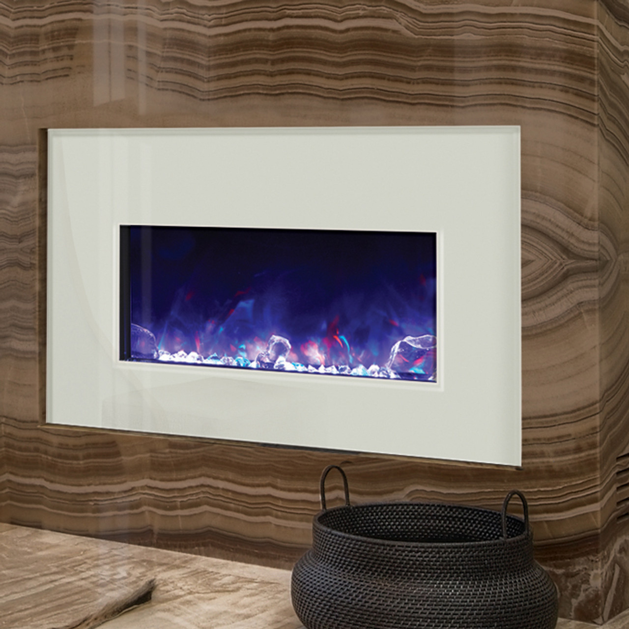 Amantii Electric Fireplace Insert 30 Inches Wide Shop Online