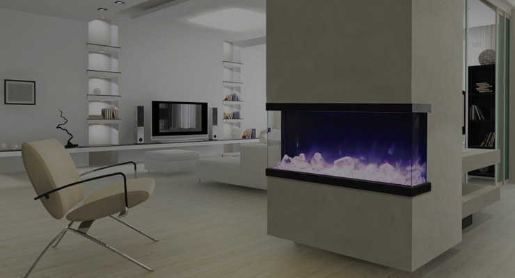 outdoor elelctric fireplaces